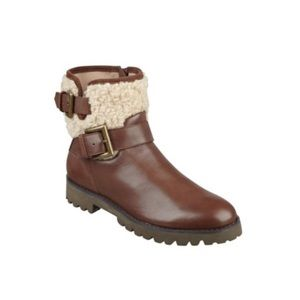 Easy Spirit Brown Brower Booties | Size 8.5